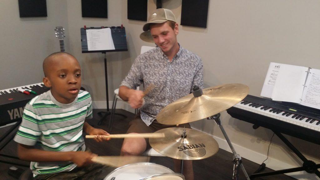 teaching drum techniques